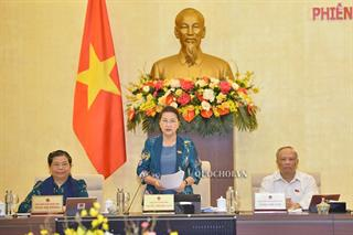 Ủy ban Thường vụ Quốc hội khai mạc phiên họp thứ 46