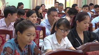 """Văn phòng điều phối nông thôn mới tỉnh: Tập huấn """"Chương trình mỗi xã một sản phẩm"""""""