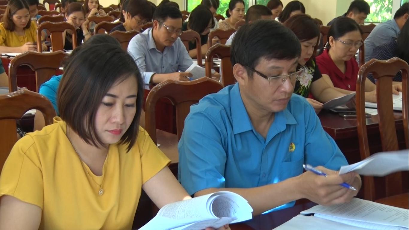 Công đoàn viên chức tỉnh sơ kết công tác 6 tháng đầu năm 2020