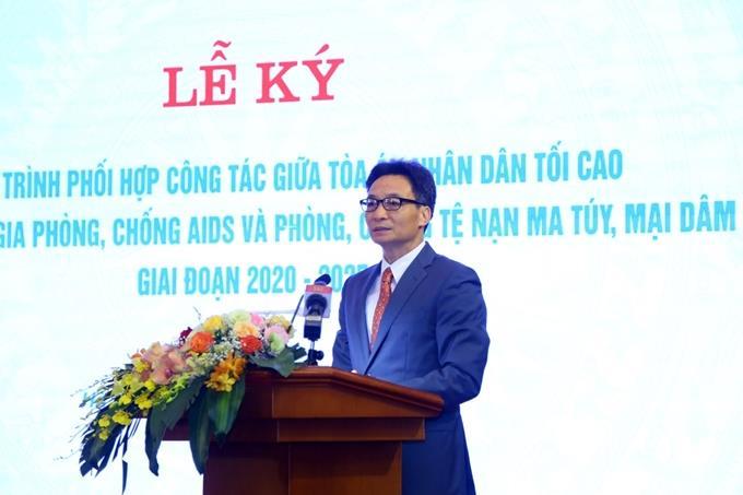Tăng cường phối hợp, nâng cao hiệu quả công tác phòng, chống AIDS, ma túy và mại dâm