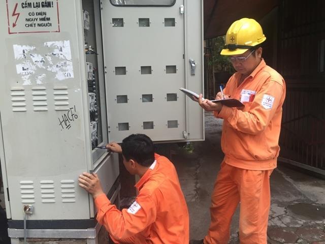 Công bố kết quả kiểm tra ghi chỉ số công tơ và hoá đơn tiền điện