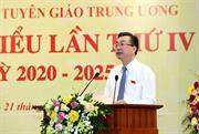 Đồng chí Bùi Trường Giang được bầu giữ chức Bí thư Đảng ủy cơ quan Ban Tuyên giáo TW