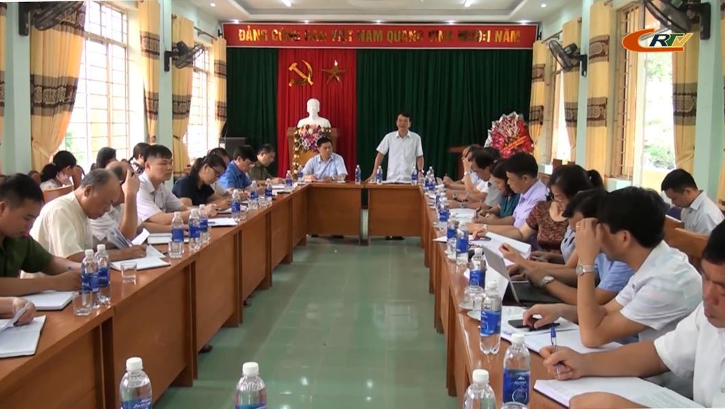 Phó Chủ tịch UBND tỉnh Nguyễn Trung Thảo: Tập trung hỗ trợ xã Lương Can hoàn thành 19/19 tiêu chí NTM