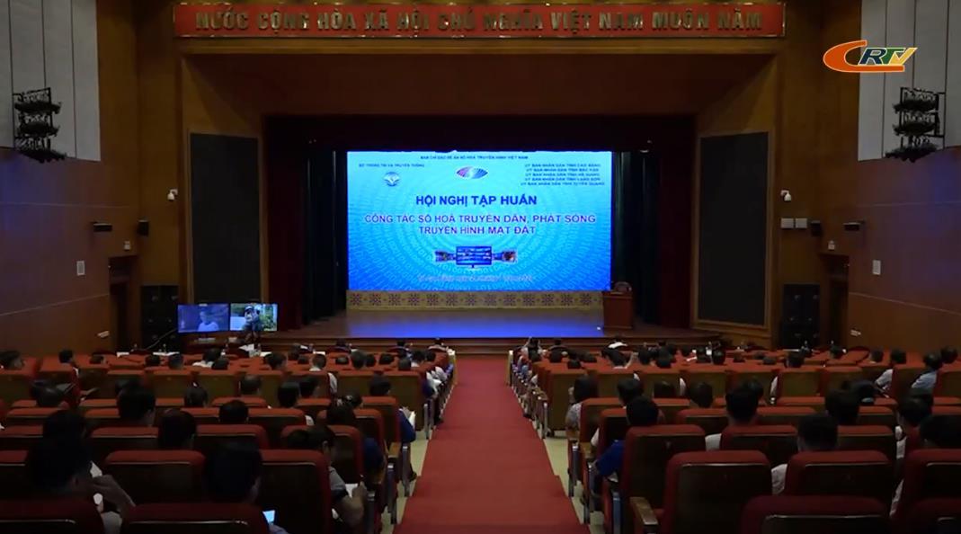Bộ Thông tin và Truyền thông: Hội nghị tập huấn công tác số hóa truyền dẫn, phát sóng  truyền hình mặt đất