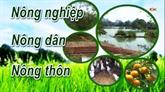 Chuyên mục Nông nghiệp - Nông dân - Nông thôn ngày 01/8/2020