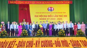 Bế mạc Đại hội đại biểu Đảng bộ Khối Cơ quan và Doanh nghiệp tỉnh lần thứ XIII, nhiệm kỳ 2020 - 2025