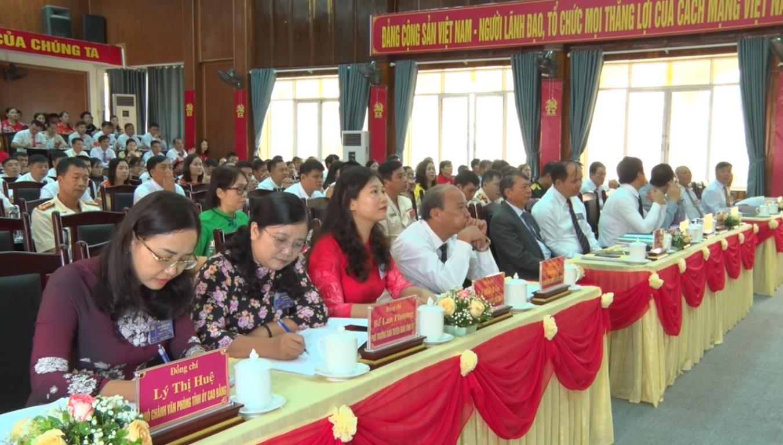 Đại hội Đảng bộ huyện Thạch An lần thứ XX, nhiệm kỳ 2020 - 2025