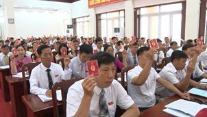Đại hội Đảng bộ huyện Trùng Khánh lần thứ XX, nhiệm kỳ 2020 - 2025 thành công tốt đẹp