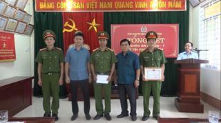Bảo Lâm: Khen thưởng đột xuất chuyên án ma túy