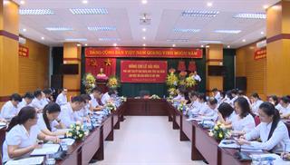 Phó Chủ tịch UBND tỉnh Lê Hải Hòa Làm việc với BHXH tỉnh