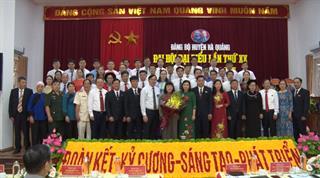 Bế mạc Đại hội đại biểu Đảng bộ huyện Hà Quảng khóa XX, nhiệm kỳ 2020 - 2025