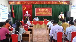 Đại biểu HĐND tỉnh tiếp xúc cử tri xã Chu Trinh