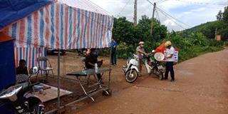 Bắc Giang: Cách ly y tế ở một số thôn liên quan đến 2 bệnh nhân COVID-19