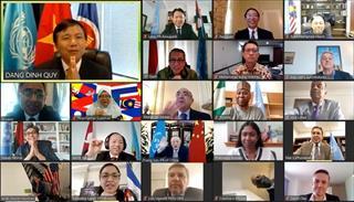 Kỷ niệm 53 năm thành lập ASEAN cùng các nước thành viên Liên hợp quốc