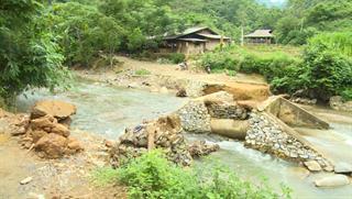 Bảo Lâm: Cầu tràn xóm Sác Ngà hư hỏng gây khó khăn cho đi lại, giao thương của người dân