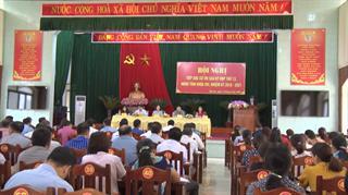 Đại biểu HĐND tỉnh tiếp xúc cử tri huyện Bảo Lạc