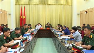 Bộ Tư lệnh Quân khu 1 kiểm tra, nắm tình hình công tác quân sự, quốc phòng địa phương tại các cơ quan, đơn vị
