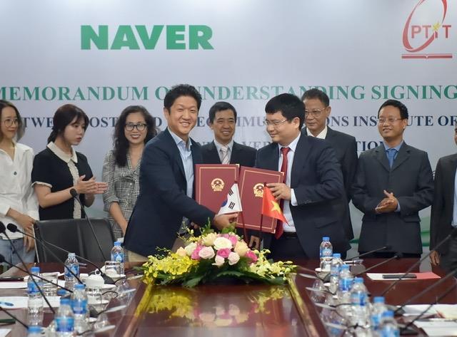 Tập đoàn Naver và Học viện Công nghệ Bưu chính Viễn thông hợp tác nghiên cứu và đào tạo AI