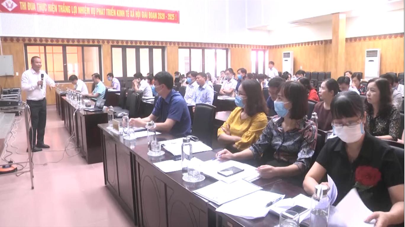 Thành phố triển khai thực hiện Bộ chỉ số năng lực cạnh tranh cấp huyện DDCI