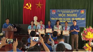 Trùng Khánh: Tổng kết công tác Đoàn – Đội trường học năm học 2019-2020