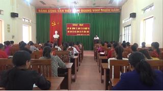 Hà Quảng: Khai mạc lớp bồi dưỡng lý luận chính trị, nghiệp vụ công tác Hội LHPN cho 125 học viên