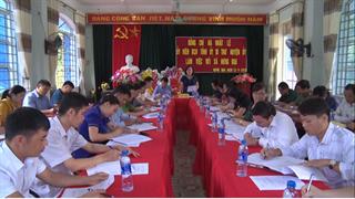 Bảo Lạc: Kiểm tra tình hình phát triển kinh tế - xã hội, an ninh quốc phòng và công tác xây dựng Đảng tại xã Hưng Đạo