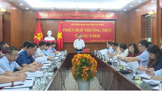 Thường trực HĐND tỉnh tổ chức Phiên họp thường kỳ tháng 9