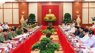 Bộ Chính trị hoàn thành chương trình làm việc với 67/67 đảng bộ trực thuộc Trung ương