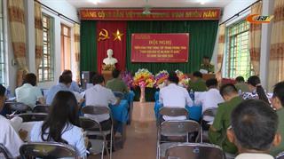 Công an xã Canh Tân bảo đảm giữ gìn an ninh trật tự trên địa bàn