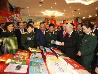 Xây dựng Đảng bộ Quân đội thực sự gương mẫu, tiêu biểu, trong sạch, vững mạnh