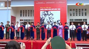 """Triển lãm """"Chiến thắng Biên giới 1950 và thành tựu phát triển kinh tế - xã hội tỉnh Cao Bằng"""""""