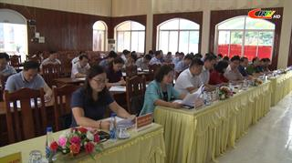 Bảo Lạc: Hội nghị chuyên đề về thúc đẩy giải ngân vốn đầu tư công và thu ngân sách trên địa bàn