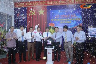 Đài PT-TH Cao Bằng: Lễ công bố phát sóng kênh truyền hình Cao Bằng tiêu chuẩn HD trên vệ tinh Vinasat