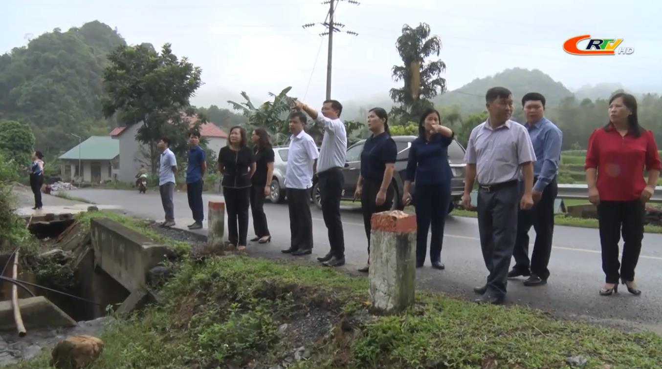Giám sát kết quả triển khai, đầu tư điện lưới nông thôn và nước sinh hoạt vùng đặc biệt khó khăn tại huyện Quảng Hòa
