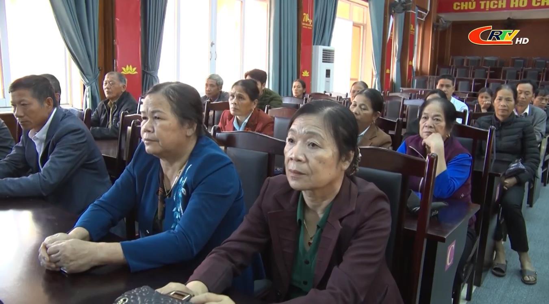 Thạch An: Hội nghị thông tin thời sự cho người uy tín lần thứ nhất năm 2020