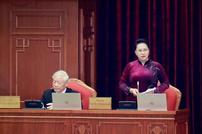 Phiên bế mạc của Hội nghị lần thứ 13 Ban Chấp hành Trung ương Đảng khoá XII