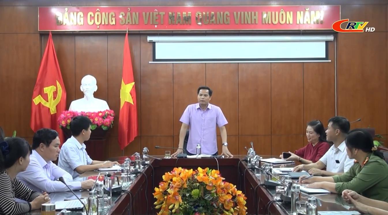 Đoàn ĐBQH tỉnh: Họp triển khai công tác chuẩn bị phục vụ Kỳ họp thứ 10 Quốc hội khoá XIV