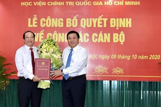 PGS.TS. Lưu Văn An được giao Quyền Giám đốc Học viện Báo chí và Tuyên truyền