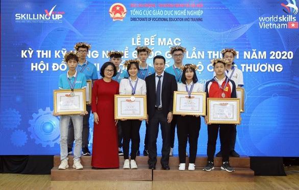 290 thí sinh đoạt giải tại kỳ thi kỹ năng nghề quốc gia lần thứ 11 năm 2020