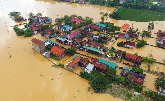 Tập trung khắc phục hậu quả mưa lũ và ứng phó với bão số 7