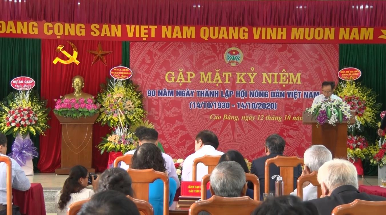 Hội Nông dân tỉnh: Gặp mặt kỷ niệm 90 năm ngày thành lập Hội Nông dân Việt Nam