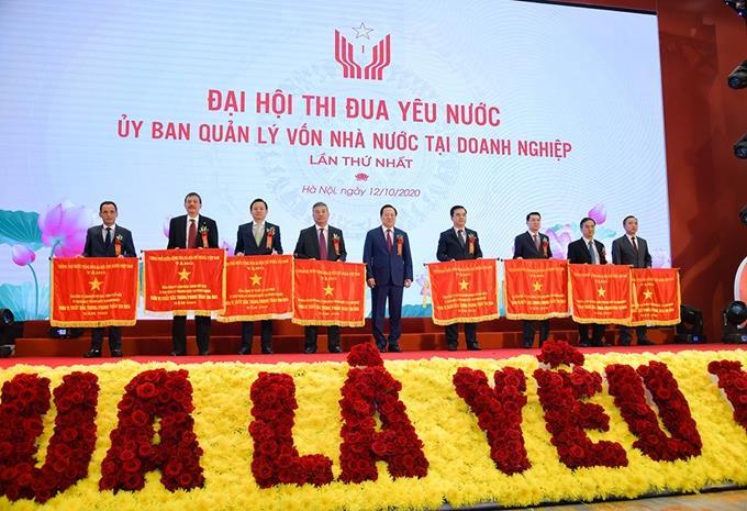 Đại hội thi đua yêu nước Ủy ban Quản lý vốn nhà nước tại doanh nghiệp lần thứ nhất