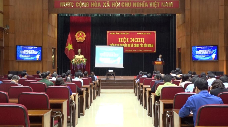Bộ Ngoại giao: Hội nghị thông tin chuyên đề về công tác đối ngoại