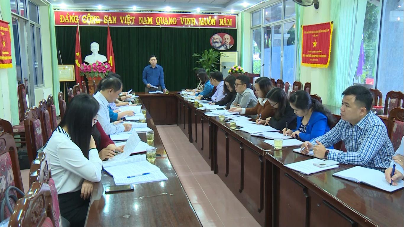 Ban Dân tộc HĐND tỉnh giám sát việc thực hiện Quyết định số 402 tại Sở Nội vụ