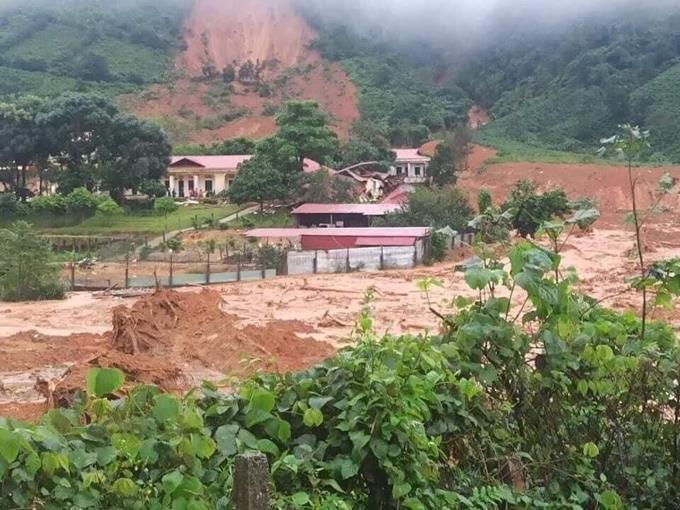 Xảy ra 2 sự cố sạt lở đất tại Hướng Hóa, Quảng Trị