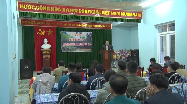 Bảo Lạc: Chương trình chung tay xây dựng nông thôn mới tại xã Huy Giáp