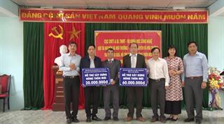 Sở Tài nguyên và Môi trường: Hỗ trợ xã Huy Giáp xây dựng nông thôn mới