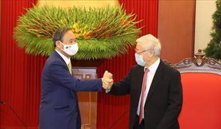 Việt Nam - Nhật Bản thể hiện rõ tinh thần đối tác chiến lược sâu rộng