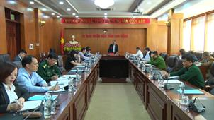 Chủ tịch UBND tỉnh Hoàng Xuân Ánh: Tiếp tục tăng cường công tác tuyên truyền, khuyến cáo áp dụng các biện pháp phòng, chống dịch Covid-19