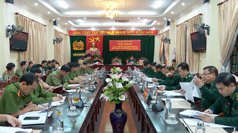 Hội nghị giao ban 3 lực lượng thực hiện Nghị định số 03 của Chính phủ